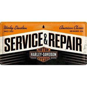 Harley Davidson Service 25x50  NA27002