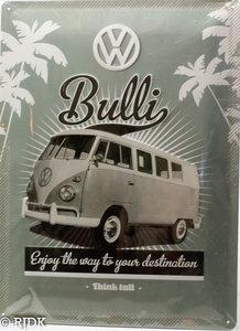 VW Bulli, Enjoy the way to your Destination 3D