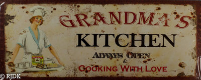 GRANDMA'S kichen, Always OPEN