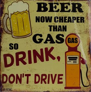 Beer now cheaper than Gas 30x30