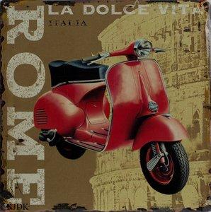 Rome La Dolce Vita 30x30