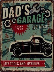 Dad's Garage 33x25