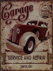 Garage Service and Repair 33x25