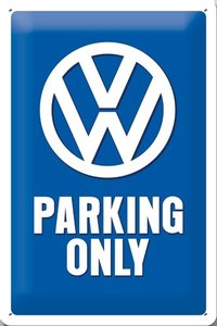 VW Parking Only 20x30 3D