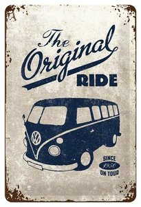 VW Bulli,The Original Ride 20x30 3D
