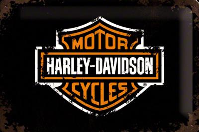 Harley-Davidson Paint Logo 20x30 3D