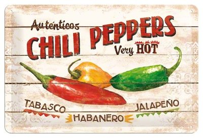 Chili Peppers 20x30 3D