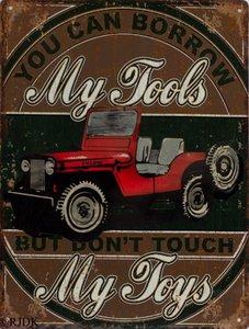 You can borrow my tools 33x25