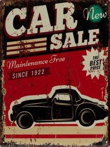 Car sale 33x25