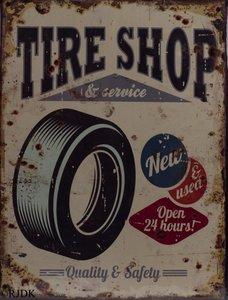 Tire Shop & Service 33x25