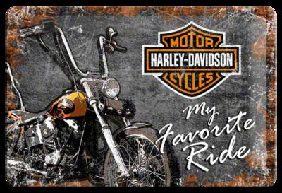 Harley-Davidson, Favorite Ride 20x30 3D
