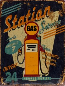 Gas station 33x25
