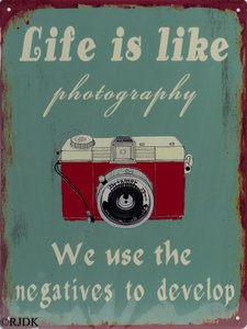Life is like Photography 33x25