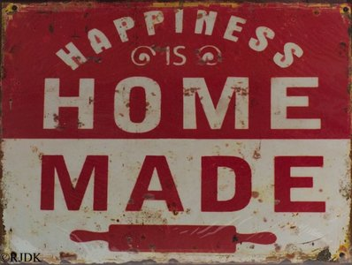 Happiness is home made 25x33