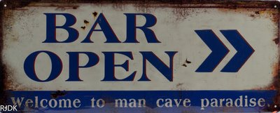Bar Open 20x50