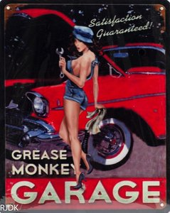 Grease Monkey Garage 25x20