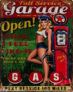 Full Service Garage Open 25x20