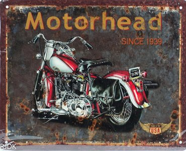 Moterhead since 1939 20x25