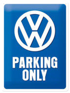 VW Parking Only NA23135