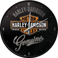 Harley Davidson Wall Clock Genuine NA51082