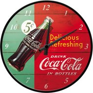 Coca Cola Clock Delicious R  NA51068